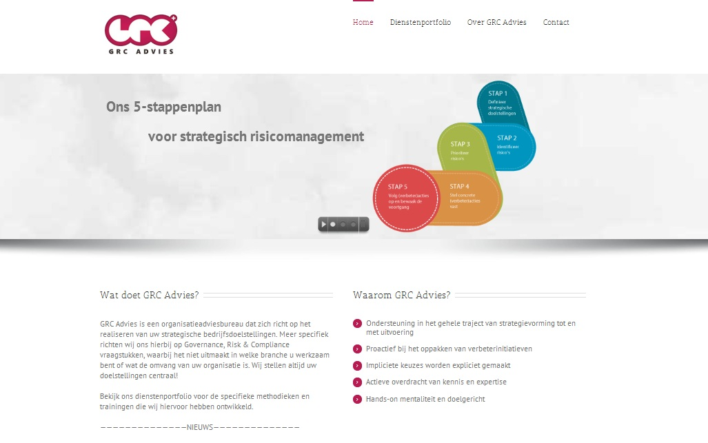 Website GRC Advies